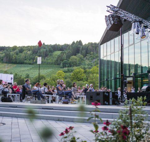 Terrasse TauberPhilharmonie